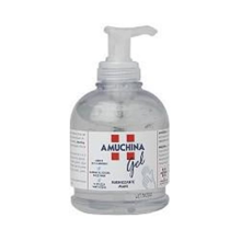 AMUCHINA GEL </br>IGIENIZZANTE MANI</br>FLACONE CON DISPENSER 500ML