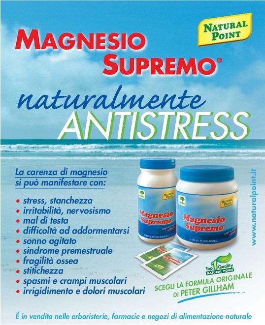 Natural Point Magnesio Supremo 300g Parafarmacia Conciapelli