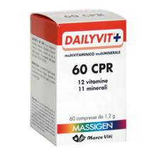 MASSIGEN DAILYVIT+  60 COMPRESSE