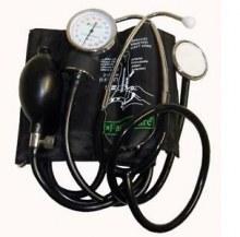 Sfigmomanometro ad aneroide </br> con fonendoscopio &nbsp;