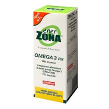 ENERZONA  OMEGA 3 RX120 capsule