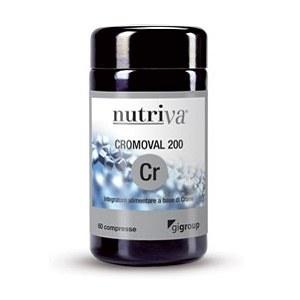 NUTRIVA</br> CROMOVAL 200 </br>60 compresse