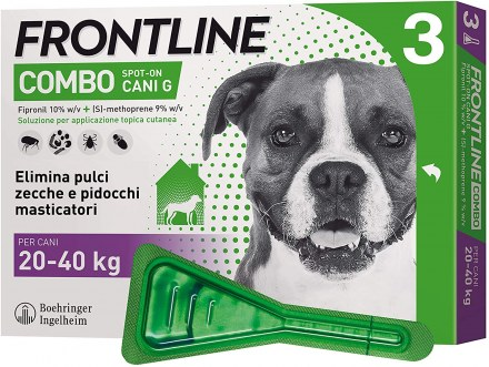 FRONTLINE COMBO CANI 20-40KG   3 PIPETTE