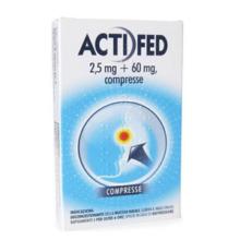 ACTIFED </BR> 12 COMPRESSE </BR>
