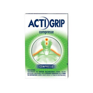 ACTIGRIP </BR> 12 COMPRESSE </BR> &nbsp;