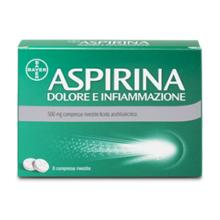 ASPIRINA DOLORE E INFIAMMAZIONE </BR> 20 COMPRESSE </BR> &nbsp;