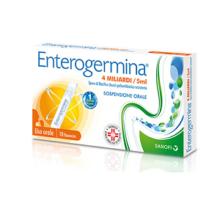 ENTEROGERMINA </br> 4 MILIARDI/5 ML </BR> 10 FLACONCINI
