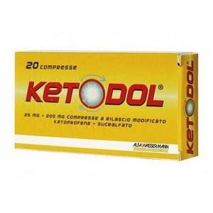 KETODOL </BR> 20 COMPRESSE </BR>