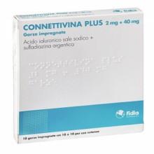 CONNETTIVINA PLUS</BR> 10 GARZE</BR>