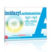 IMIDAZYL ANTISTAMINICO</BR> COLLIRIO 10 FLACONCINI MONODOSE