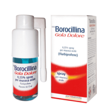 NEOBOROCILLINA</BR> GOLA E DOLORE</br> SPRAY 15ML