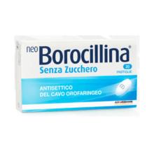 NEOBOROCILLINA</BR> GUSTO CLASSICO SENZA ZUCCHERO </br>20 PASTIGLIE&nbsp;