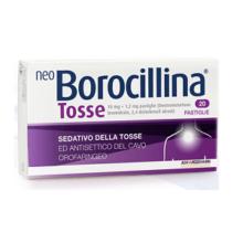 NEOBOROCILLINA</BR> TOSSE</br> 20 PASTIGLIE