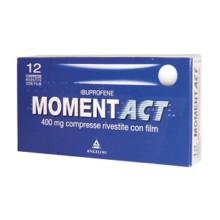 MOMENTACT</BR> 12 COMPRESSE </BR>