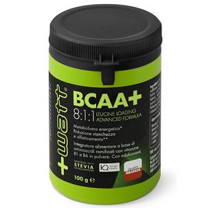 +WATT<BR/>BCAA+ 8:1:1 <BR/> POLVERE 100 G