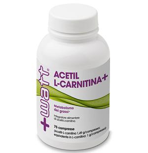 +WATT<BR/>ACETIL L-CARNITINA + <BR/> 75 COMPRESSE