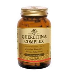SOLGAR</BR>QUERCITINA COMPLEX  50 CAPSULE VEGETALI