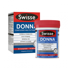 SWISSE </br> MULTIVITAMINICO DONNA 30 COMPRESSE