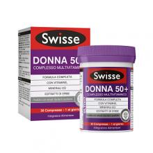 SWISSE </br> MULTIVITAMINICO DONNA 50+ 30 COMPRESSE