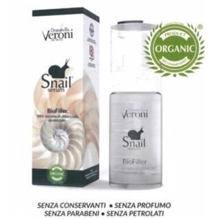 DONATELLA VERONI SNAIL BIOFILLER 98% secreto di chiocciola ozonizzato Siero