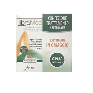 ABOCA LIBRAMED COMPRESSE TRATTAMENTO 5 SETTIMANE
