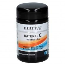NUTRIVA NATURAL C 60 cpr Masticabili