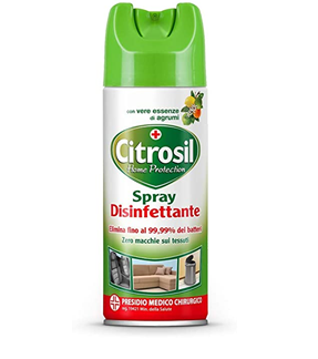 CITROSIL HOME PROTECTION  SPRAY DISINFETTANTE AGRUMI