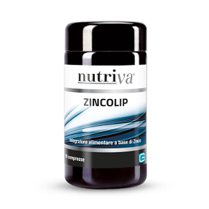 NUTRIVA </br>ZINCOLIP 60 COMPRESSE